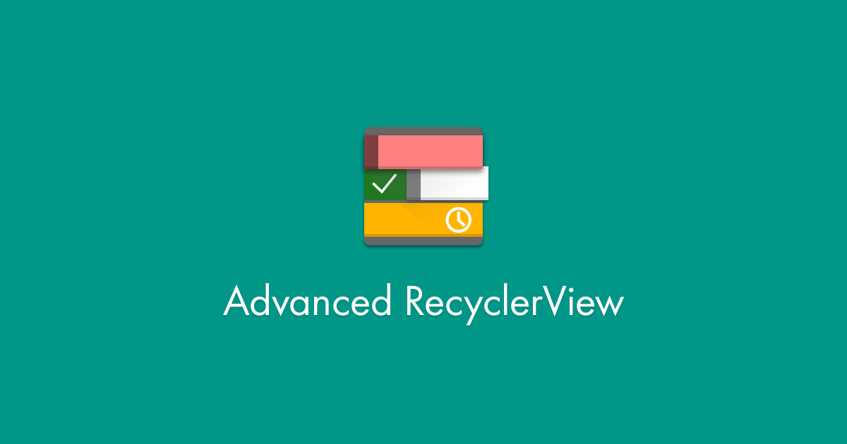 FAQ - Advanced RecyclerView